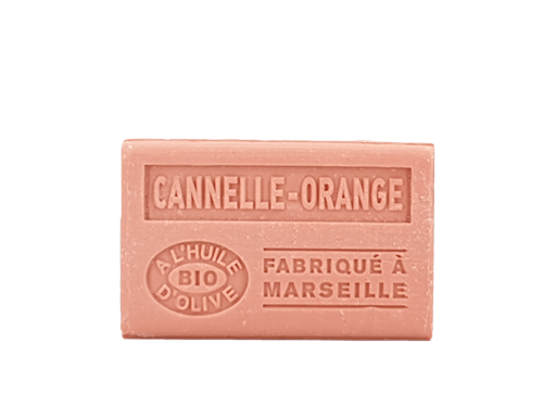 savon cannelle orange 125g olive