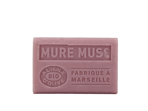 savons mure musc 125g olive