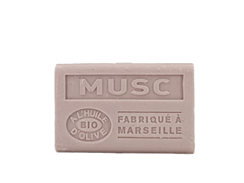 savons musc 125g olive
